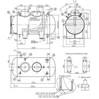 Деаэраторный бак БДА-2