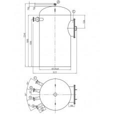 Колонка деаэраторная КДА-100