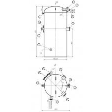 Колонка деаэраторная КДА-200
