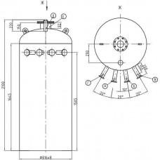 Колонка деаэраторная КДА-25