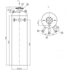 Колонка деаэраторная КДА-5