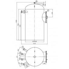 Колонка деаэраторная КДА-50